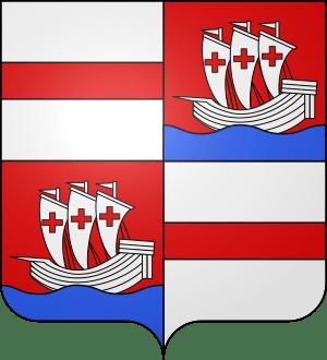 Blason Commune Folschviller Casas - Moselle